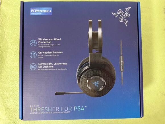 Razer Thresher for PS4のパッケージ画像